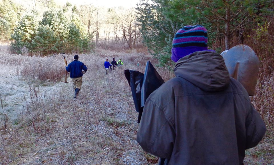 Manual Removal of Invasive Plants-Novermber 9 _17
